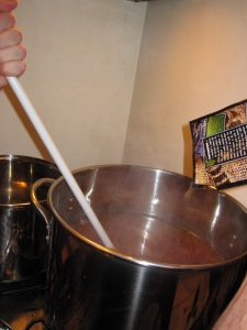 Stirring in Hops